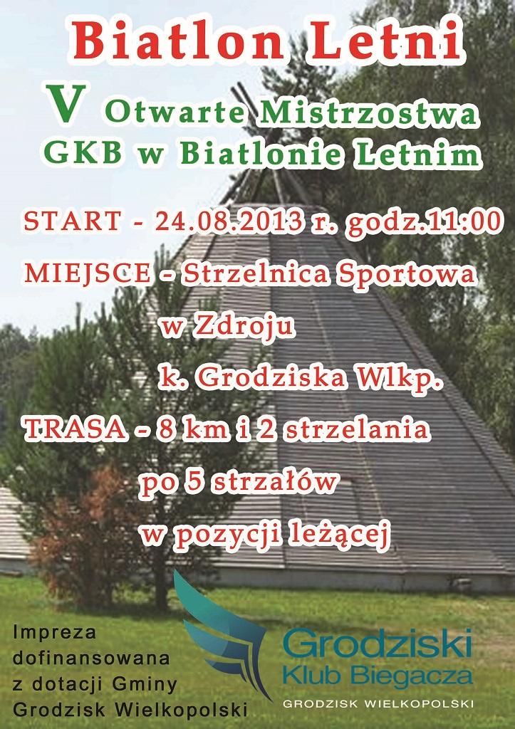 PLAKAT Biatlon 2013