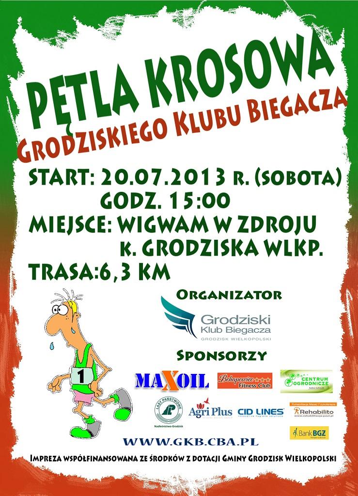 Petla Krosowa 2013 plakat